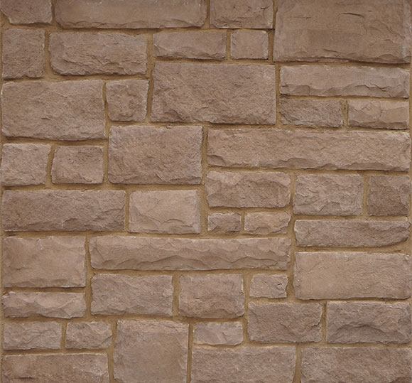 Country Brown Limestone Veneer Panel